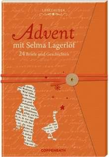 Selma Lagerlöf: Briefbuch - Advent mit Selma Lagerlöf, Buch
