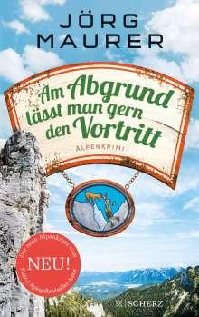 Jörg Maurer: Am Abgrund lässt man gern den Vortritt, Buch