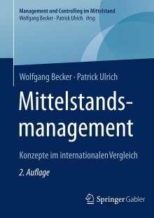 Wolfgang Becker: Mittelstandsmanagement, Buch