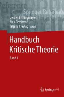 Handbuch Kritische Theorie, 2 Bücher