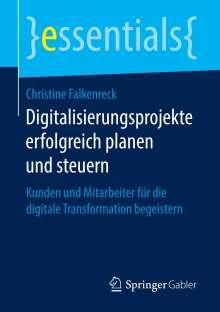 Christine Falkenreck: Digitalisierungsprojekte erfolgreich planen und steuern, Buch