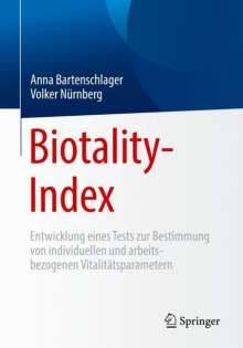 Anna Bartenschlager: Biotality-Index, Buch