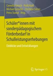 Schüler*innen mit sonderpädagogischem Förderbedarf in Schulleistungserhebungen, Buch