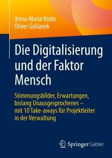 Anna-Maria Krebs: Die Digitalisierung und der Faktor Mensch, Buch