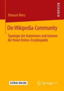 Manuel Merz: Die Wikipedia-Community, Buch