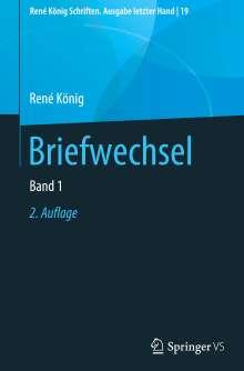 Rene König: Briefwechsel, Buch