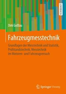 Dirk Goßlau: Fahrzeugmesstechnik, Buch