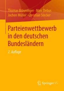 Thomas Bräuninger: Parteienwettbewerb in den deutschen Bundesländern, Buch