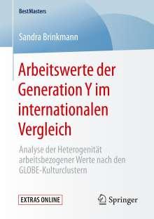 Sandra Brinkmann: Arbeitswerte der Generation Y im internationalen Vergleich, Buch