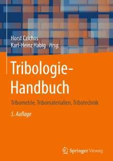 Tribologie-Handbuch, Buch