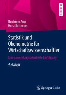Benjamin Auer: Statistik und Ökonometrie für Wirtschaftswissenschaftler, Buch