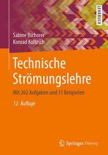Sabine Bschorer: Technische Strömungslehre, Buch