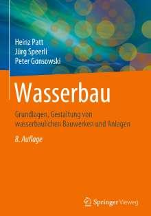 Heinz Patt: Wasserbau, Buch