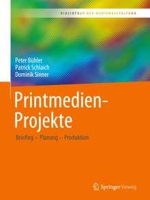 Peter Bühler: Printmedien-Projekte, Buch