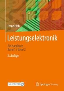 Franz Zach: Leistungselektronik, Buch