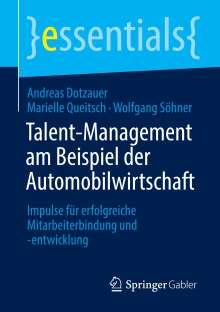 Andreas Dotzauer: Talent-Management am Beispiel der Automobilwirtschaft, Buch