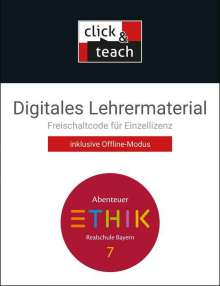 Lars Fischer: Abenteuer Ethik 7 click & teach Box Bayern, Diverse