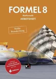 Grit Ehlert: Formel 8 Arbeitsheft Berlin/Brandenburg, Buch