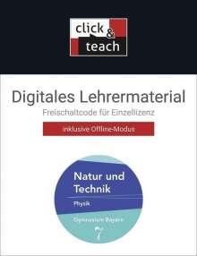 Rüdiger Janner: Natur und Technik 7 click & teach Gymnasium Bayern, Diverse