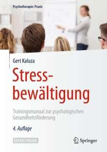 Gert Kaluza: Stressbewältigung, Buch