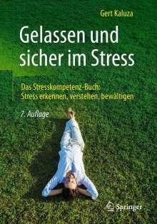 Gert Kaluza: Gelassen und sicher im Stress, Buch