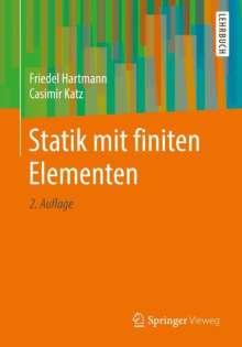 Friedel Hartmann: Statik mit finiten Elementen, Buch