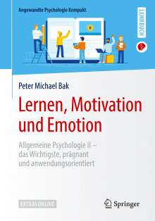 Peter Michael Bak: Lernen, Motivation und Emotion, Buch