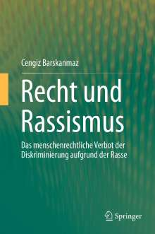 Cengiz Barskanmaz: Recht und Rassismus, Buch