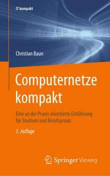 Christian Baun: Computernetze kompakt, Buch