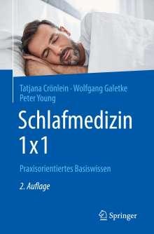 Tatjana Crönlein: Schlafmedizin 1x1, Buch