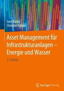 Gerd Balzer: Asset Management für Infrastrukturanlagen - Energie und Wasser, Buch