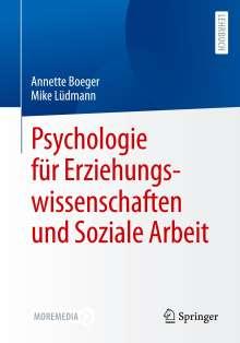 Annette Boeger: Psychologie für Erziehungswissenschaften und Soziale Arbeit, Buch