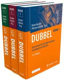 Dubbel Taschenbuch für den Maschinenbau SET 1-3, Diverse
