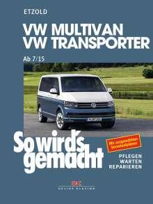Rüdiger Etzold: VW Multivan / Transporter ab 7/15, Buch