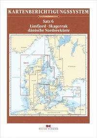 Sportbootkarten-Berichtigung Satz 6 (Ausgabe 2020). Limfjord - Skagerrak - Dänische Nordseeküste, Diverse