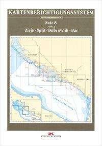 Berichtigung Sportbootkarten Satz 8: Adria 2  (Ausgabe 2020), Diverse