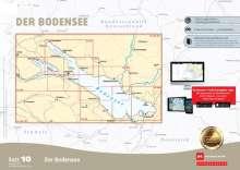 Sportbootkarten Satz 10: Bodensee (Ausgabe 2020), Diverse
