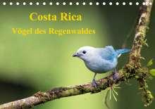 K. A. Akrema-Photography: Costa Rica - Vögel des Regenwaldes (Tischkalender 2020 DIN A5 quer), Diverse