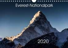 Jens König: Everest-Nationalpark (Wandkalender 2020 DIN A4 quer), Diverse