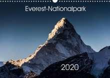 Jens König: Everest-Nationalpark (Wandkalender 2020 DIN A3 quer), Diverse