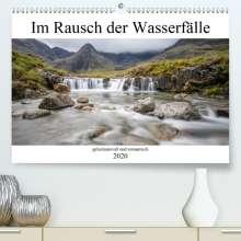 K. A. Akrema-Photography: Im Rausch der Wasserfälle - geheimnisvoll und romantisch(Premium, hochwertiger DIN A2 Wandkalender 2020, Kunstdruck in Hochglanz), Diverse
