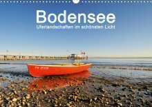 Markus Keller: Bodensee - Uferlandschaften im schönsten Licht 2021 (Wandkalender 2021 DIN A3 quer), Kalender