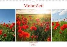 Steffen Gierok: MohnZeit (Wandkalender 2021 DIN A3 quer), Kalender