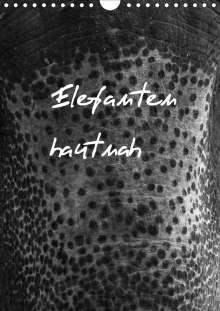 Antje Hopfmann: Elefanten hautnah (Wandkalender 2021 DIN A4 hoch), Kalender