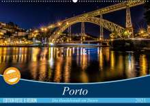 Martina Schikore: Porto - Die Handelsstadt am Douro (Wandkalender 2021 DIN A2 quer), Kalender