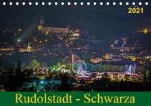 Michael Wenk Wenki: Rudolstadt - Schwarza (Tischkalender 2021 DIN A5 quer), Diverse