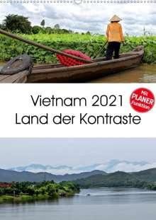 ©. Mirko Weigt: Vietnam 2021 Land der Kontraste (Wandkalender 2021 DIN A2 hoch), Kalender