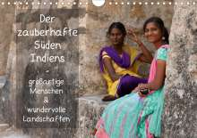 Thomas Münter: Der zauberhafte Süden Indiens (Wandkalender 2021 DIN A4 quer), Kalender