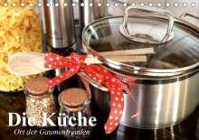 Elisabeth Stanzer: Die Küche. Ort der Gaumenfreuden (Tischkalender 2021 DIN A5 quer), Kalender