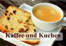 Elisabeth Stanzer: Kaffee und Kuchen. Impressionen (Wandkalender 2021 DIN A2 quer), Kalender